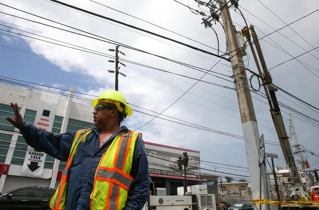 A top FEMA official sent to Puerto Rico to oversee power restoration arrested in corruption probe