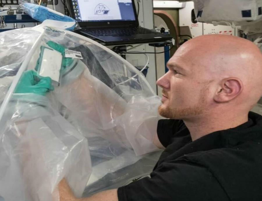 astronauta de la Agencia Espacial Europea Alexander Gerst