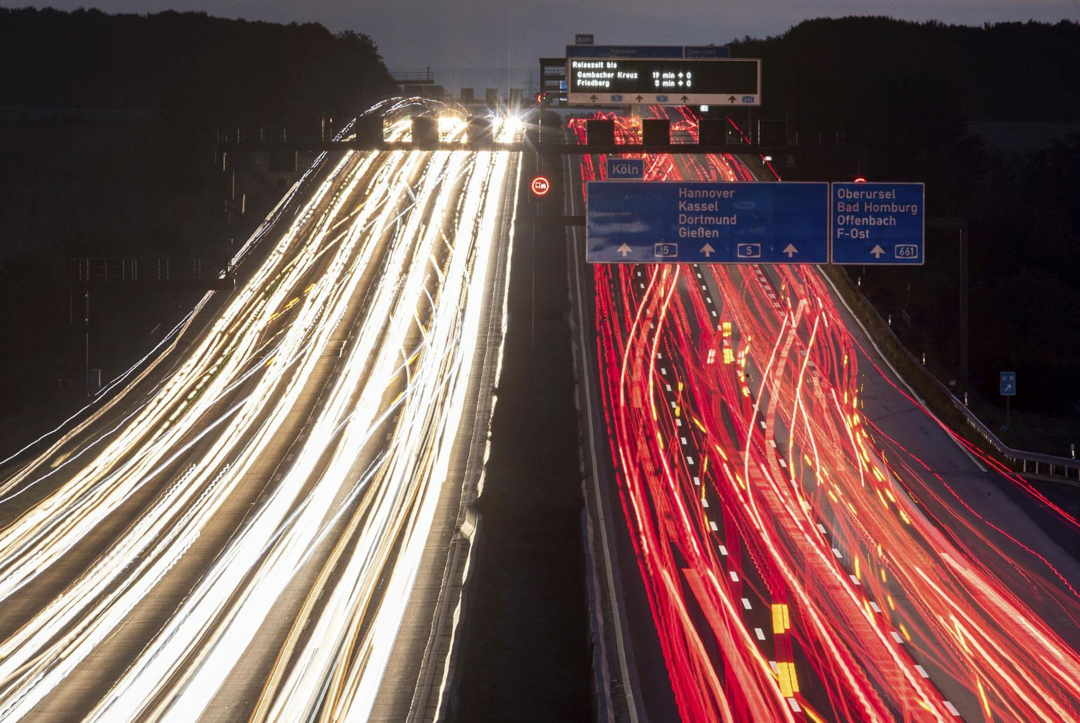 Autopista De Francfort Alemania