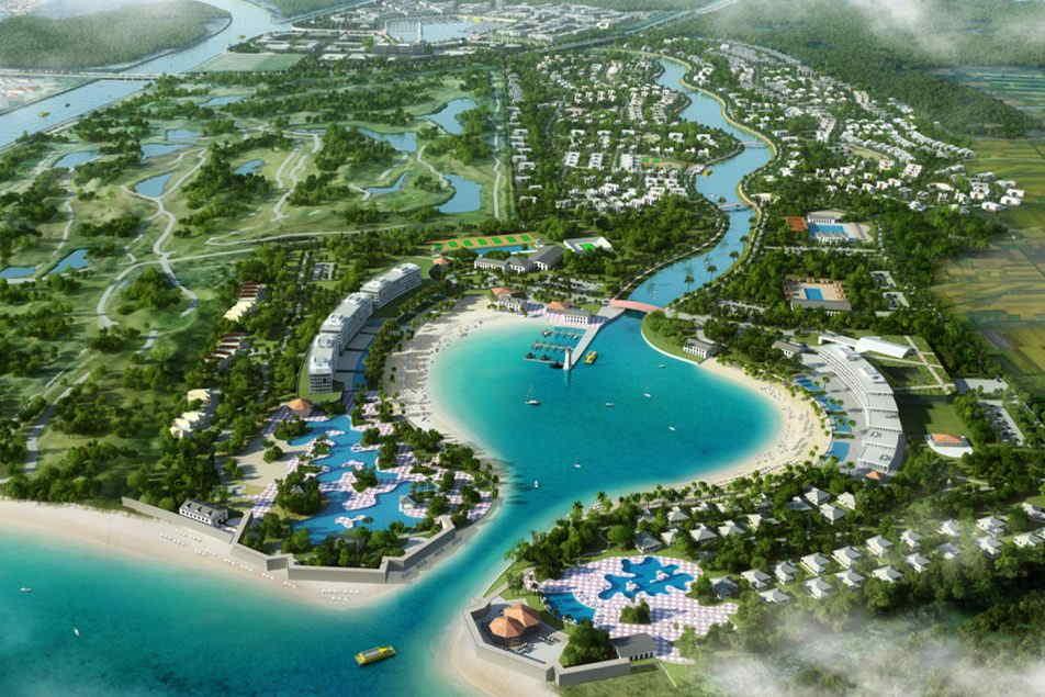 concepto megaproyecto zona costera de Ponce Paradise