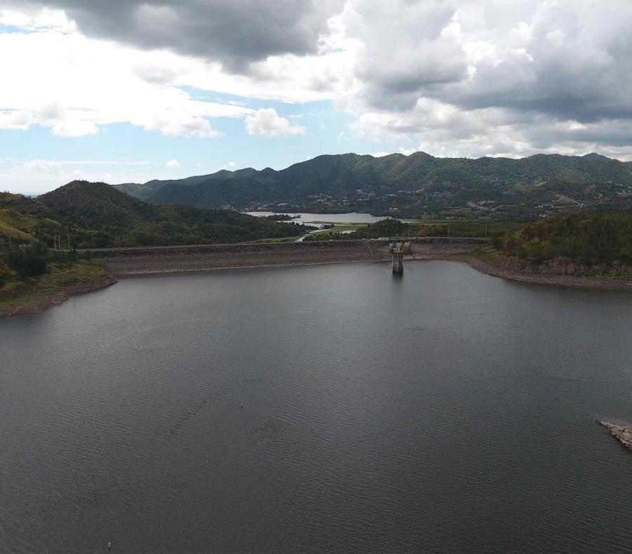 Embalse Y Represa De Toa Vaca En Villalba