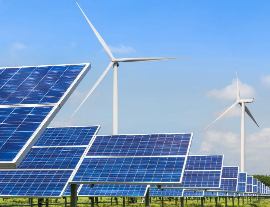 Energia Renovable Eolica Y Placas Solares