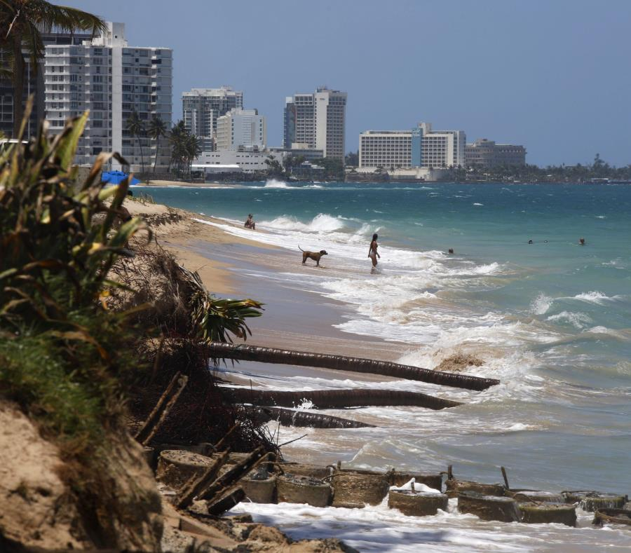 Erosion Masiva Que Afecta La Costa De Ocean Park