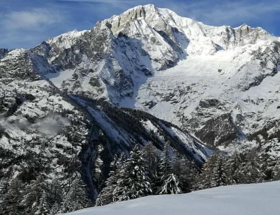 Glaciar Del Mont Blanc