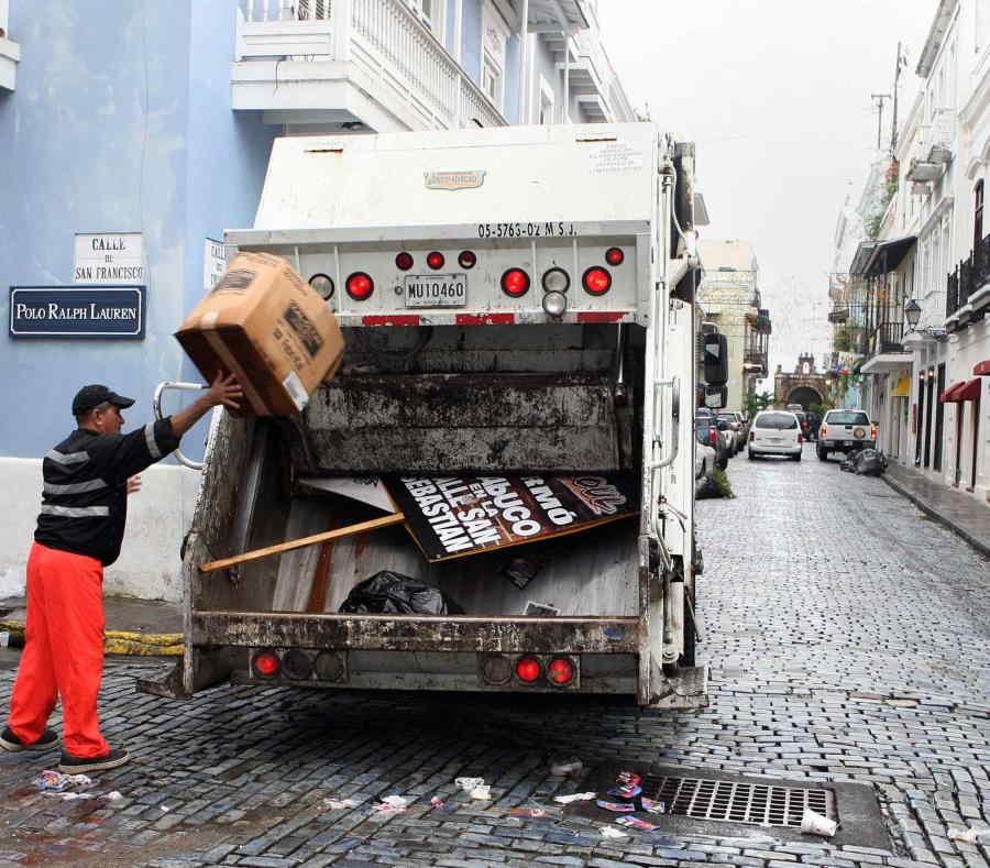 Recoleccion De Basura Puerto Rico