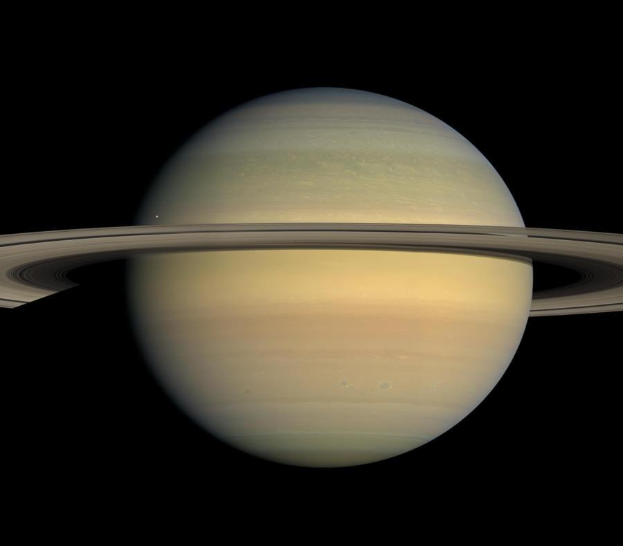 20 Lunas Nuevas Alrededor De Saturno