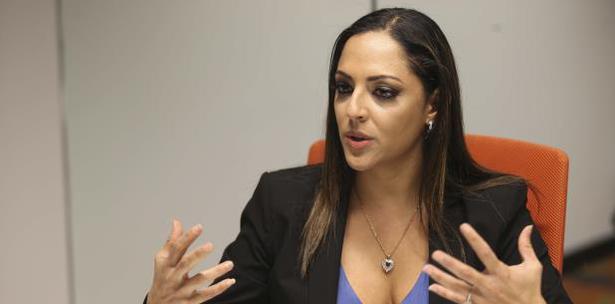 Tania Vazquez Secretaria Del Departamento De Recursos Naturales