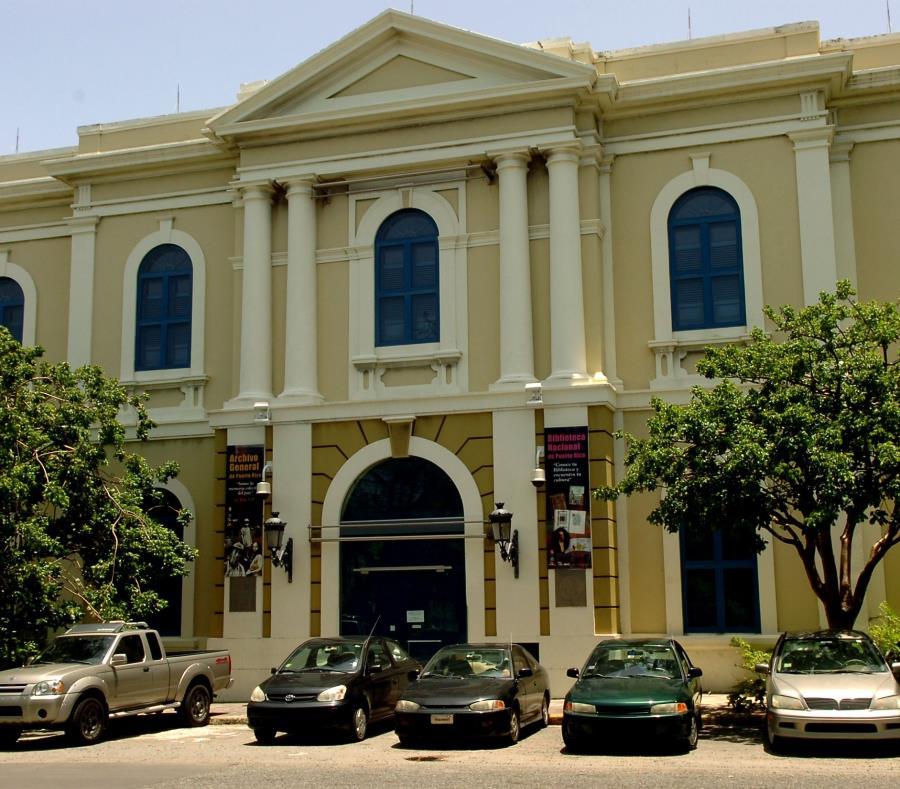 Edificio Ricardo Alegria Sede Del Archivo General De Puerto Rico Y La Biblioteca Nacional