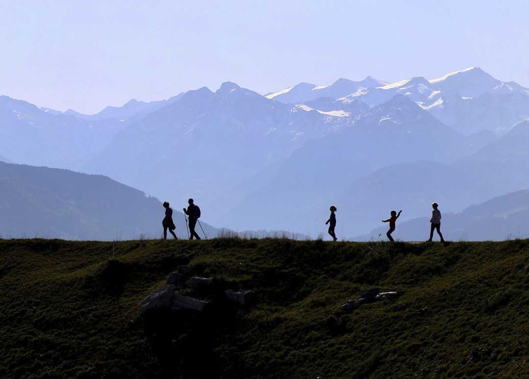 Glaciares De Los Alpes Suizos