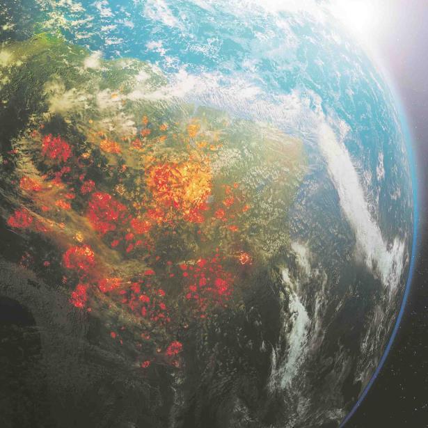Incendios En El Planeta