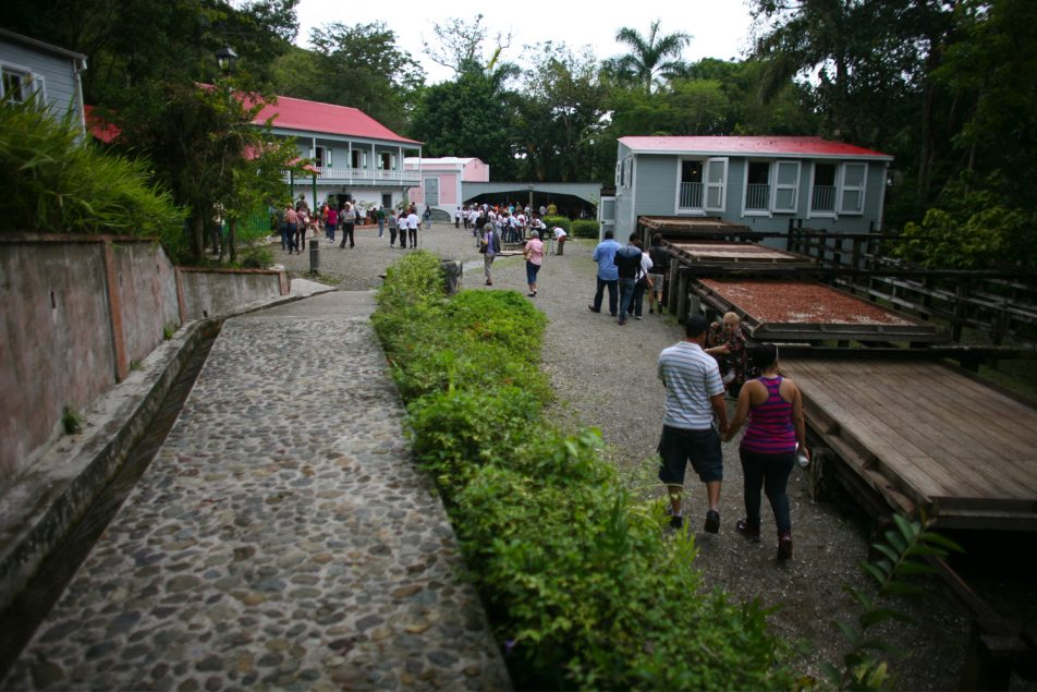 Visitantes Casa Abierta Hacienda Buena Vista