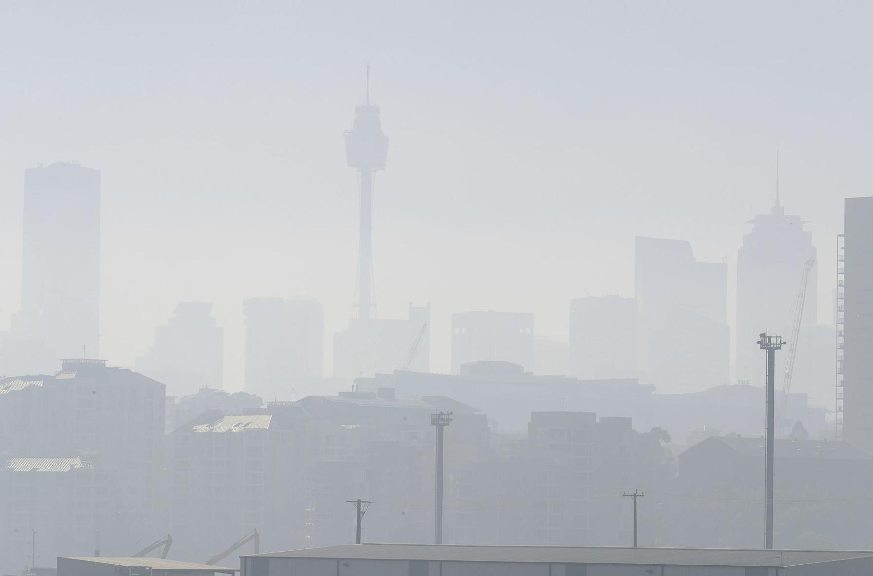 Humo De Los Fuegos Forestales Sydney