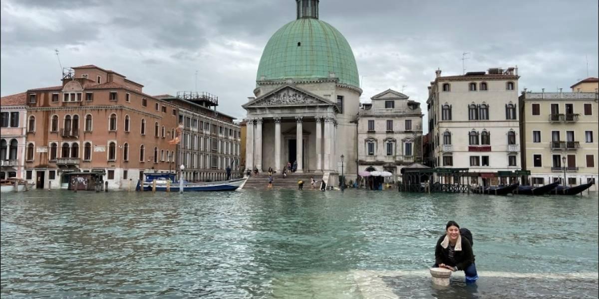 Inundacion En Venecia