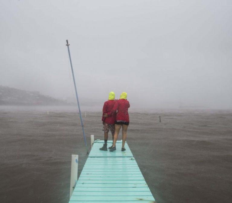 Lluvia Del Huracan Maria En La Isla Municipio De Culebra