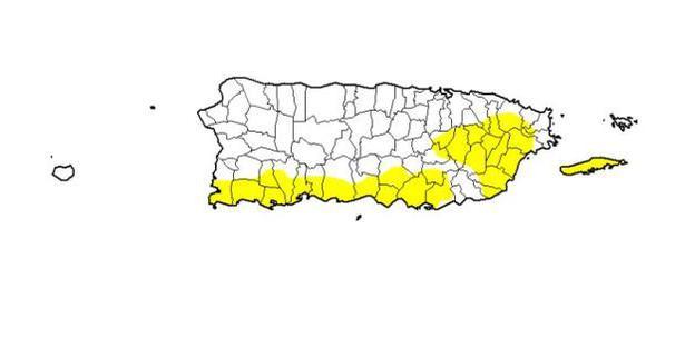 Sequia Para El Sur De Puerto Rico