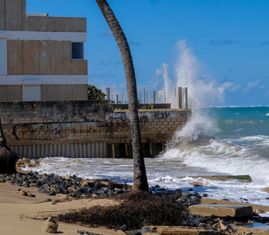 Erosion Costera En Ocean Park