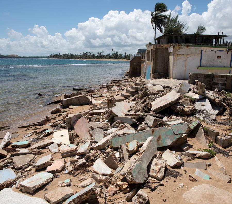 Erosion Playas En Puerto Rico