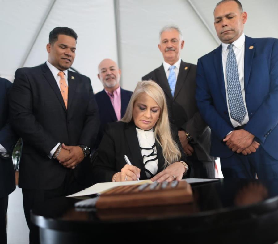 Gobernadora Puerto Rico Wanda Vazquez