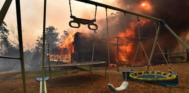 Ola De Incendios Y Calor Australia