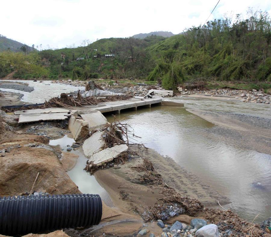 Puente Derrumbado Utuado Puerto Rico