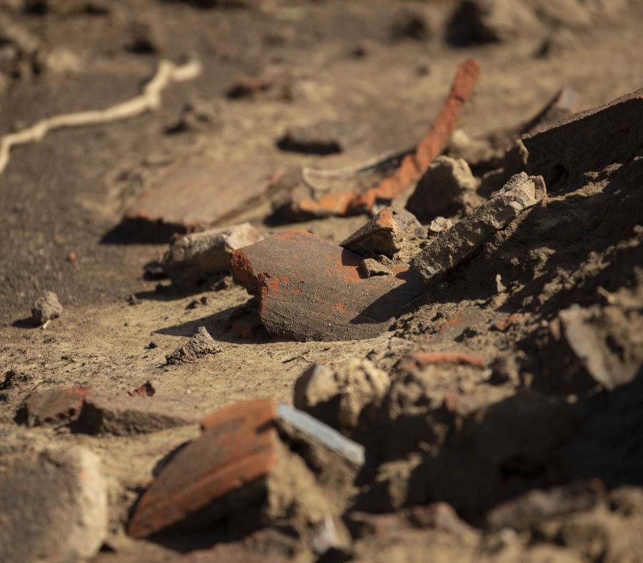 Sitio Arqueologico Destruido
