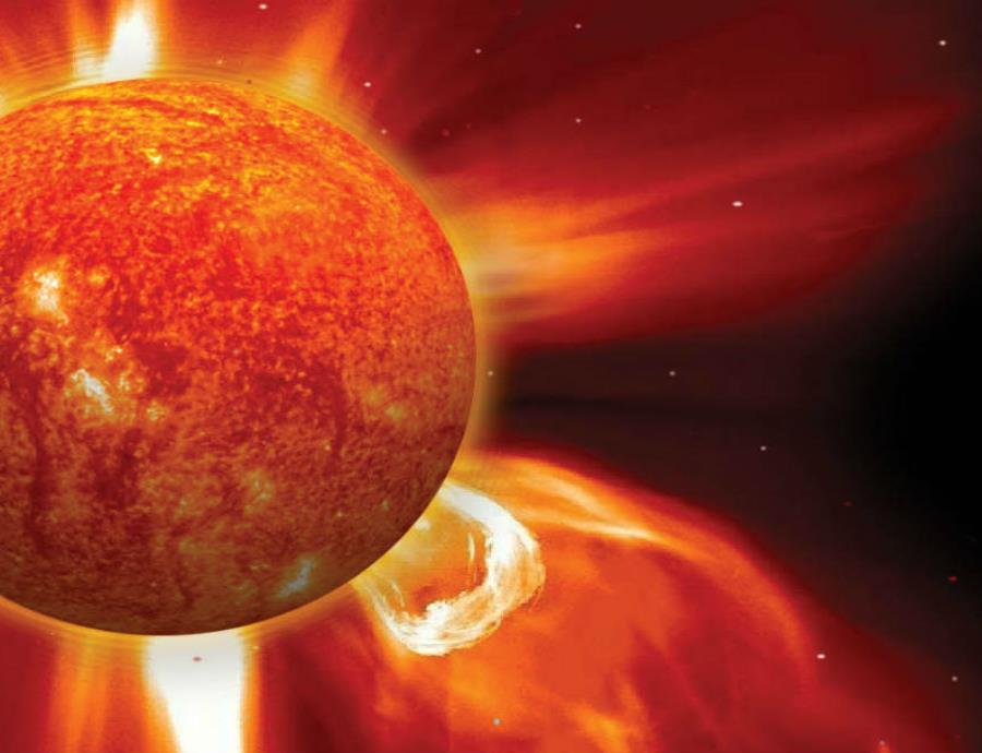 Tormenta Solar Explosion Magnetica