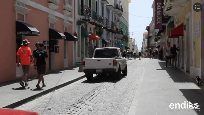 Calle San Sebastian Vias Adoquinadas Viejo San Juan