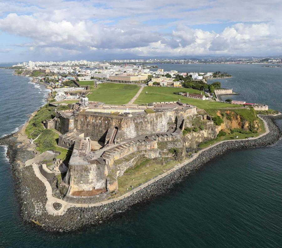 Castillo San Felipe Del Morro Fortaleza San Juan Puerto Rico
