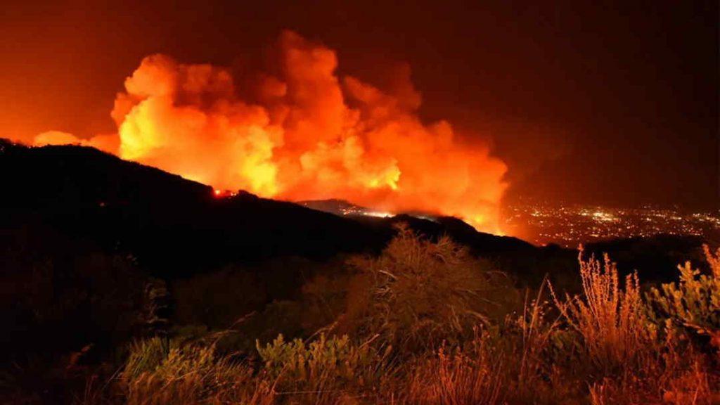 Fire In Santa Barbara California