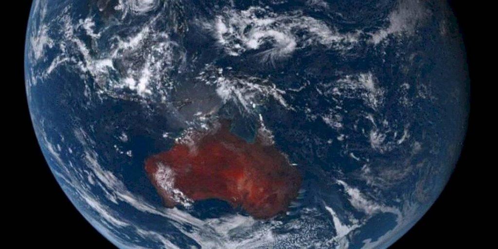Incendios En Australia Desde El Espacio