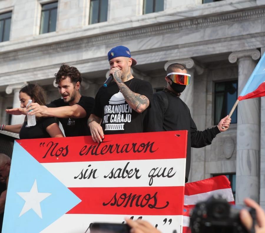 Yadier Molina Y Residente Convocan Marcha