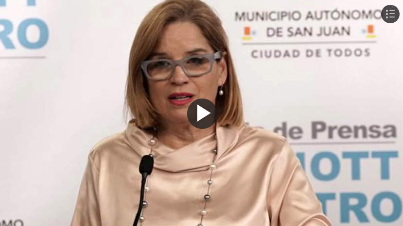 Alcaldesa Carmen Yulin Cruz Soto