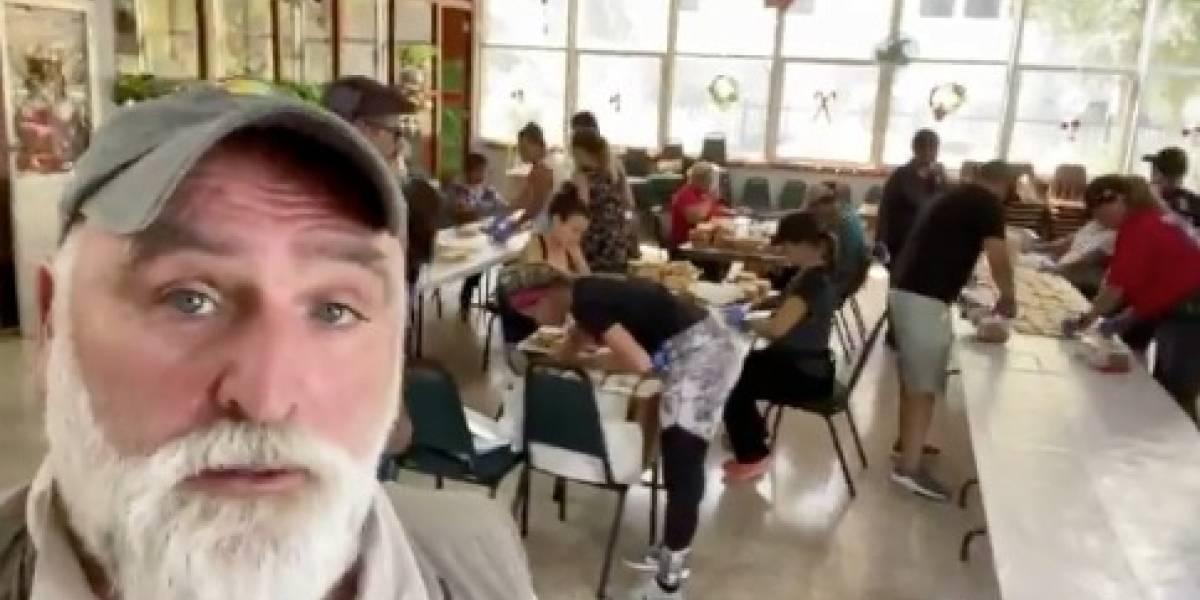 Chef Espanol Josée Andres Puerta Voluntarios Entidad World Central Kitchen WCK