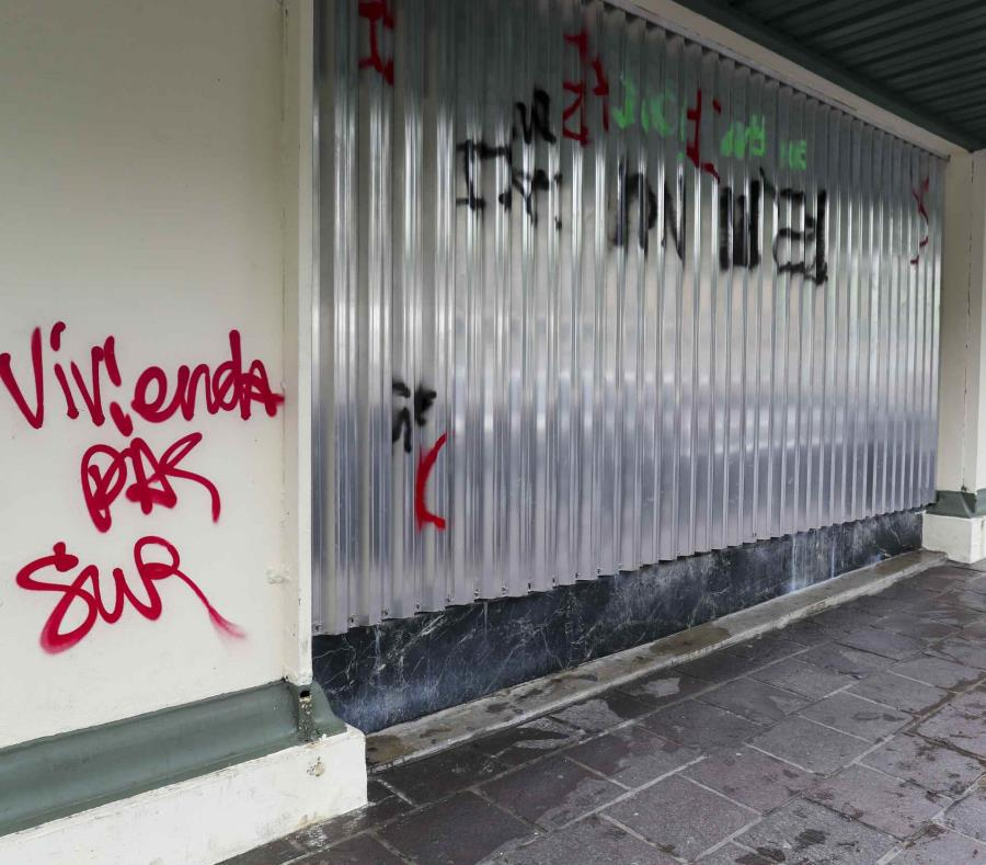 Grafiti Manifestacion