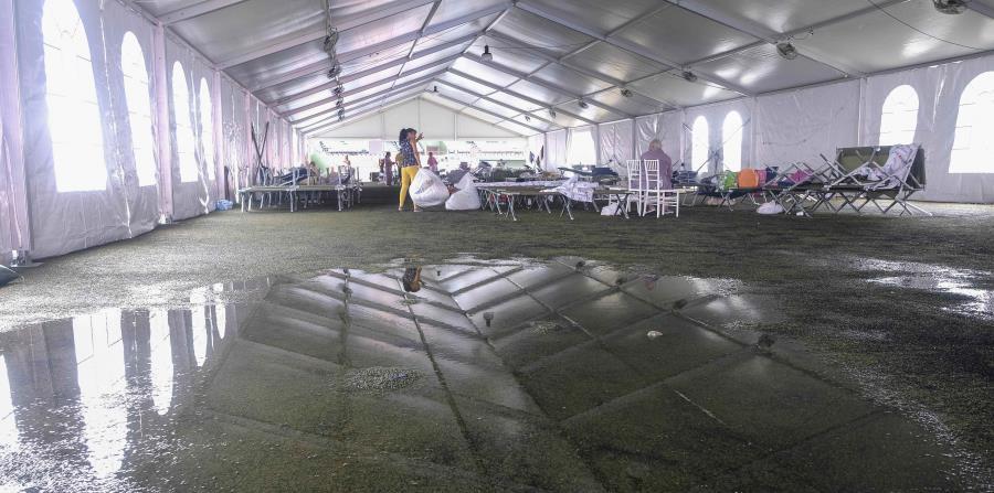Inundaciones Estadio Francisco Paquito Montaner En Ponce