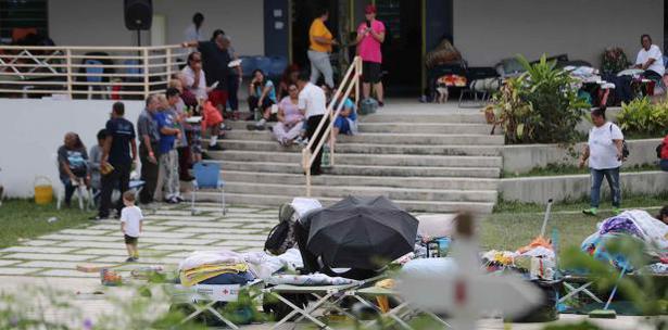 Refugiados Por Terremoto 7 De Enero Puerto Rico