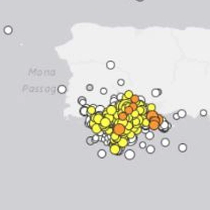 Temblores Puerto Rico
