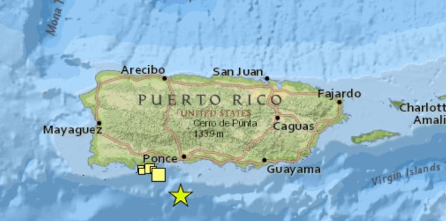 Terremoto 6 4 Puerto Rico
