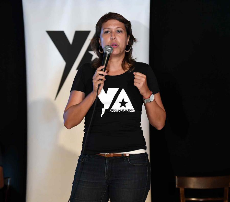 Eva Prados Portavoz Del Frente Ciudadano Por La Auditoria De La Deuda