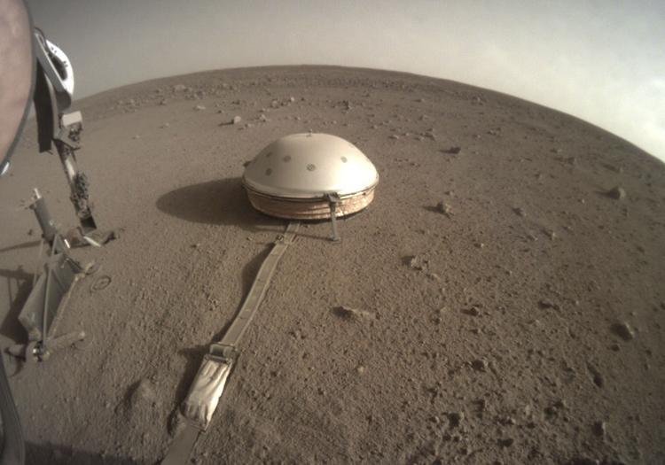 NASA Sismógrafo Explorador InSight Marte