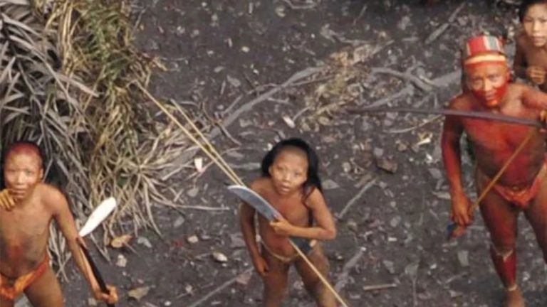 Uncontacted Indigenous Group In The Brazilian Amazon