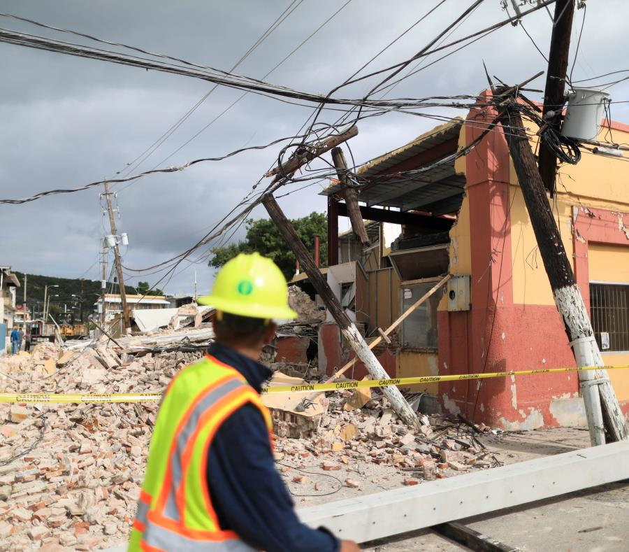 Escombros De Terremotos