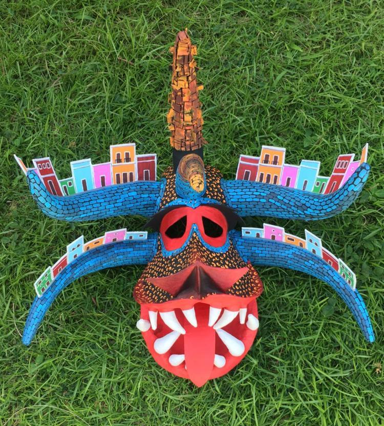 Mascaras Artesanales Tributo Al Viejo San Juan