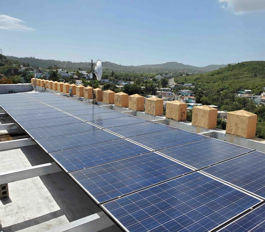 Placas Solares En El Fortin