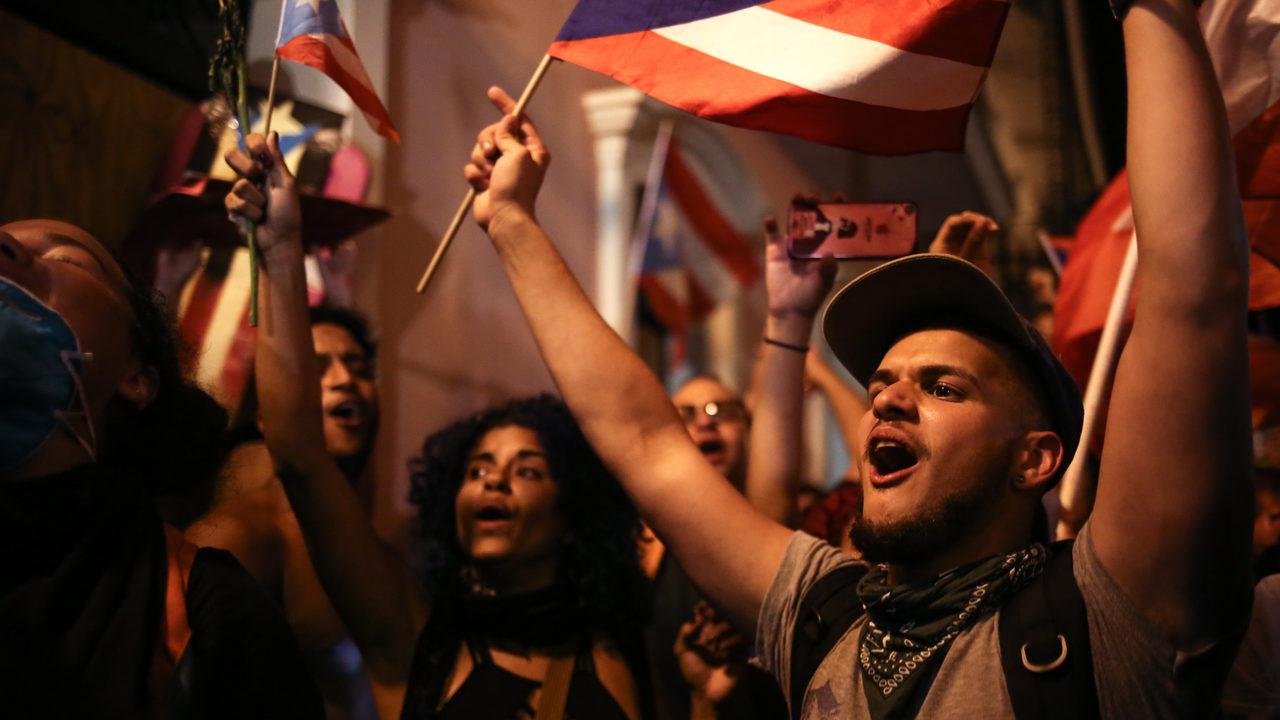 Protestas Contra Ricardo Rossello