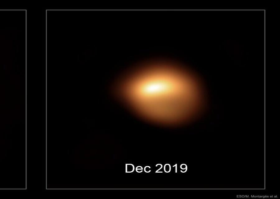 Brillo De La Estrella Betelgeuse