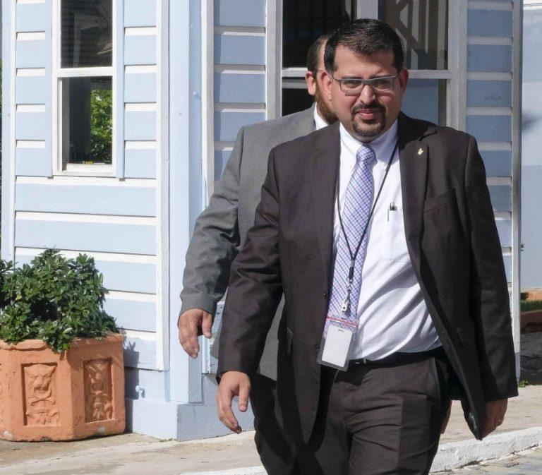 Presidente De La CEE Juan Davila Rivera