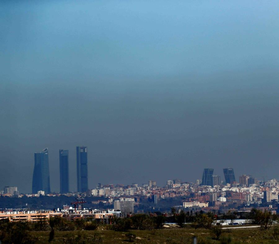 Contaminacion Atmosfera Madrid