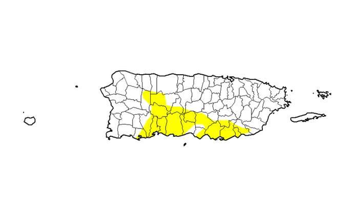 Sequia En Puerto Rico