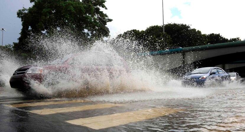 La mayor parte de la isla ya ha recibido de una a dos pulgadas de lluvia. (GFR Media)